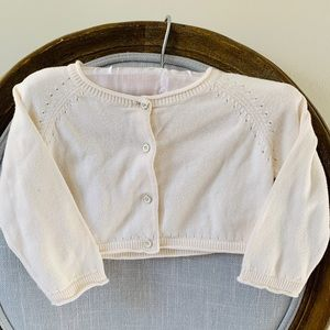 Baby Gap knit cropped sweater